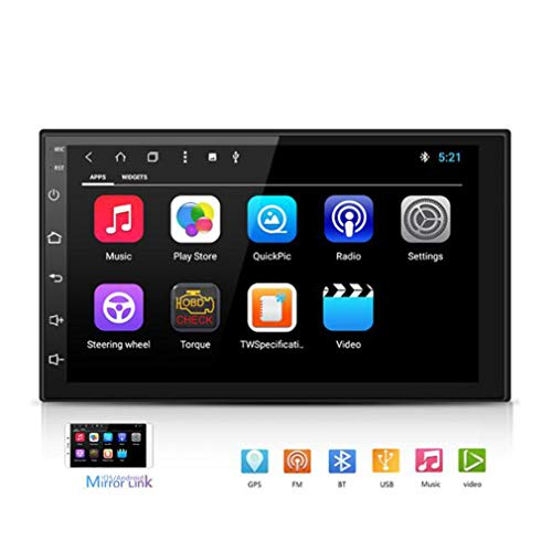 Huashao 8 Kern 2G + 16G Autoradio, Stereo 7 Zoll kapazitiver Touch Screen HD GPS Navigation Android eine Maschine
