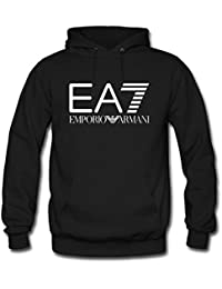 Emporio Armani - Sweat-shirt à capuche - Homme -  noir - Medium
