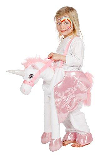 Einhornkostüm Einhorn für Kinder 104 oder 128 Reittier (Kostüm Reittier)