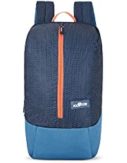 Footloose 14 Ltrs Navy Blue Casual Backpack (Zipper)