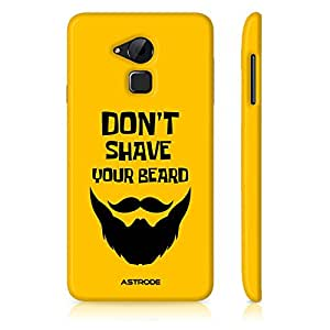 Astrode Dont Shave Your Beard Designer Mobile Case Back Cover For Coolpad Note 3