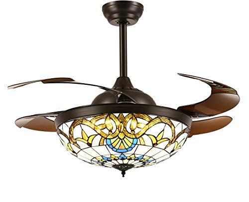 Tiffany ceiling fans le meilleur prix dans Amazon SaveMoney.es on