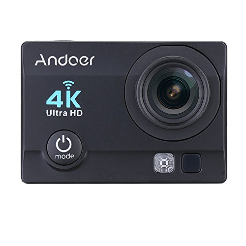 Andoer® 4 K 1080 P Wifi Cam 16MP Cámara 5,08 cm ULTRA-HD...
