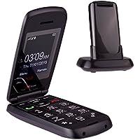 TTfone Star Telefono Cellulare con Tasti Grandi, Grigio