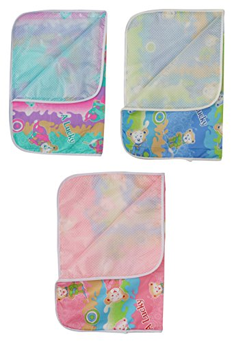 Dream Baby Diaper Changing Mat Combo (Pack of 3)