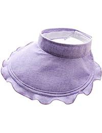 Gysad Sombrero Mujer Diseño de Etiqueta de Nylon Sombrero Mujer Verano  Dulce y Encantadora Sombrero Mujer 725aa23cf19