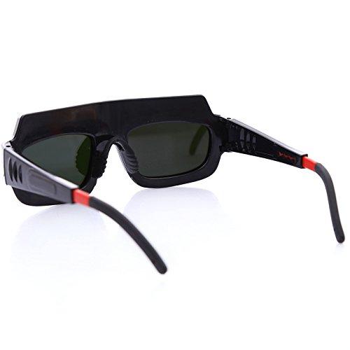 MASUNN Automatique Variable Lumière Lunettes De Protection Oculaire Soudure Argon Soudage Arc Protection UV