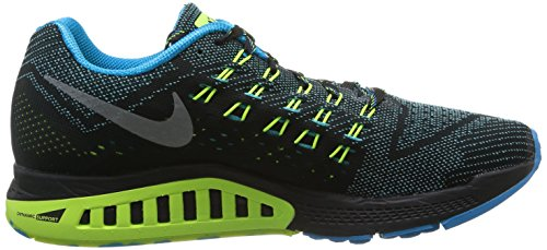 Nike  Nike Air Zoom Structure 18, Chaussures de course homme Argent - Silber (Silber / Schwarz)
