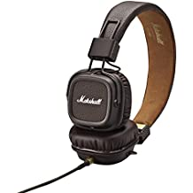 Marshall Major II - Auriculares de diadema cerrados (3.5/6.35 mm, 99 dB, micrófono), marrón