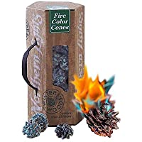 Northern Lights Colour Changing Fir Cones - for Real Open Fires & Wood Burners