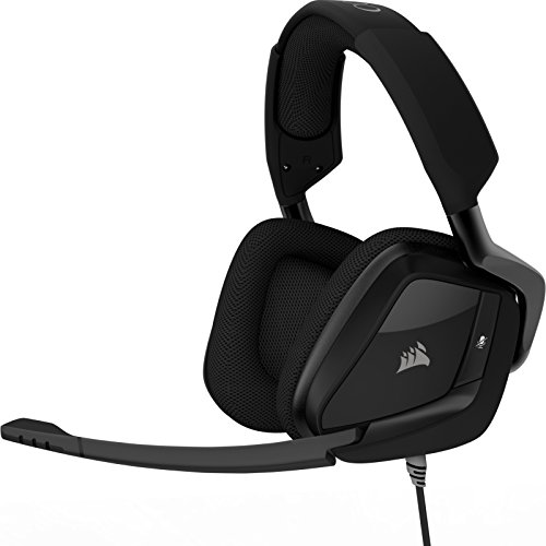 Corsair Void Pro Surround Casque Gaming (PC/PS4/Xbox One, USB 3.5mm, Dolby 7.1) Carbon