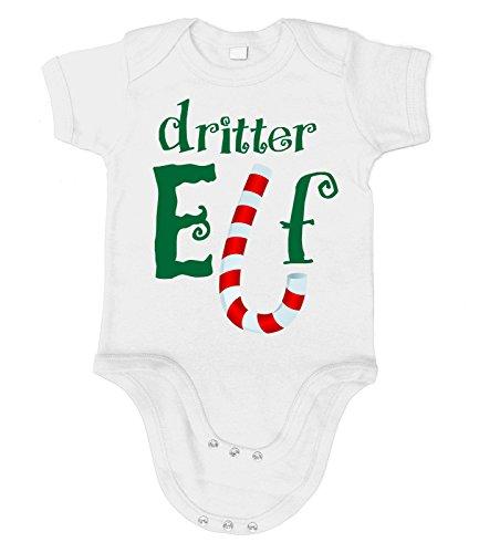Kostüm Grinch Baby (Artdiktat Baby Organic Bodysuit - Strampler - Dritter Elf Größe 76/86,)