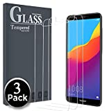 Ferlinso [3 Pièces Verre Trempé pour Honor 7C / Huawei Y7 Prime 2018 / Huawei Y7 2018, Protection écran Glass Screen Protector Vitre Tempered