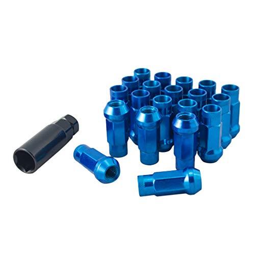 JDM Lug Nuts Stahl M12x1,25 Radmuttern Blau passend für viele Honda Toyota Lexus Mazda Mitsubishi