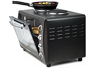 Mini Kitchen Oven with two Hot Plates - 42 Litre