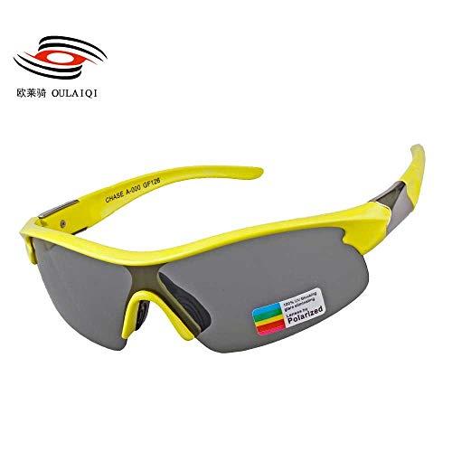 Mjia sunglasses Sportbrillen,Outdoor -Sport -Brille,polarisierte Gläser Sonne,Reiten,Berg,UV,...