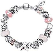 Mestige Bracelet with Swarovski Crystals for Women, MFCB1003