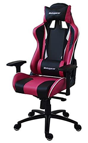 The Best MotoRacer Gaming Chair | Multi-Function Mechanism | Adjustable Height, Seat & Back | Ergonomic Racing Chair For Video Games | Racing Style Chair with Maximum Comfort | 4D Armrests | …