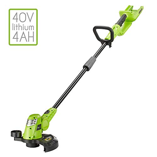 Aerotek 40V Cordless Battery Powered Grass Trimmer Machine Only Series X2