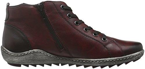 Remonte R1474, Sneakers Hautes Femme Multicolore (Vino/antik/chestnut/havanna/wine / 35)