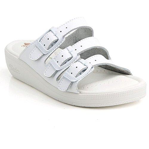 Signore Sandalo 3bcs Di Di Scarpe Alta Batz Bianco Qualità Scarpe Comfort Cuoio Mulo fqdxwPvpOP