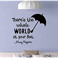 Mary Poppins Quote Wall Decal There