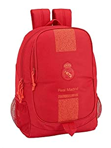 Real Madrid CF- Real Madrid Mochila, Color Rojo (SAFTA 611957665)