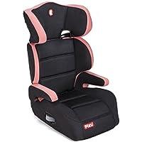 Piku 6228 - Silla de coche, grupo 2/3, 15-36 kg, 3-12 años, color rosa/negro