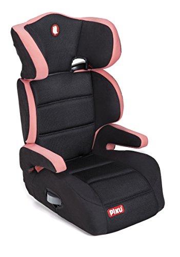 Piku 6228, Silla de coche grupo 2/3, rosa/negro