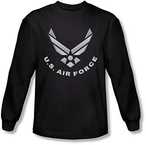 Air Force - Herren Logo Longsleeve T-Shirt Black