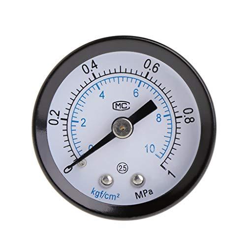 Duyummy CO2-Druckmesser-Aquarium-Kohlendioxid-Luftdruckmessgerät-Skala PT1 / 8