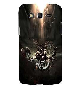 EPICCASE Thunder warrior Mobile Back Case Cover For Samsung Galaxy Grand Max (Designer Case)