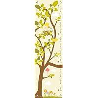 Oopsy Daisy nei rami Panna Forbici e Zook crescita grafici, colore: giallo pastello, 30,5x 106,7cm - Oopsy Grafici Daisy Crescita