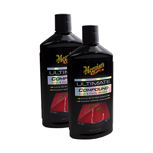 Meguiar's 2X MEGUIARS 650139 Ultimate Compound Polierpaste Politur Autopolitur 450ml
