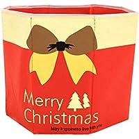 Uesae Adornos navideños, árbol de Navidad, Caja de Almacenamiento, artículos de Navidad