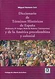 Dicc. De Terminos Historicos De España