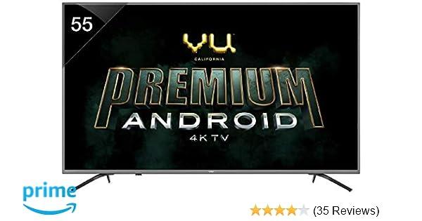 VU 138 cm (55 Inches) 4K Ultra HD Smart LED TV 55 OA (Silver) (2019 Model)