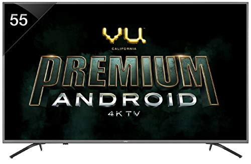 VU 138 cm (55 Inches) 4K Ultra HD Smart LED TV 55 OA (Silver) (2019 Model)