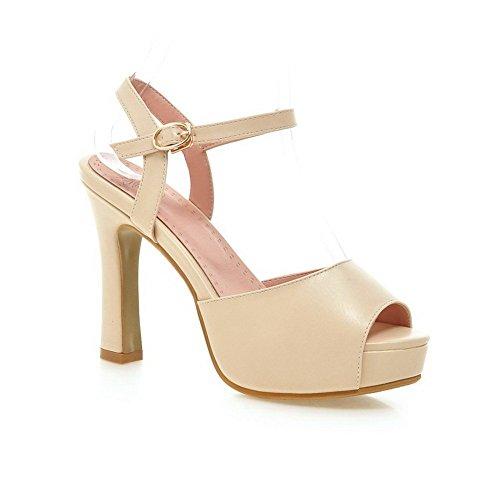adee-mesdames-boucle-high-heels-polyurethane-sandales-beige-orange-abricot-38
