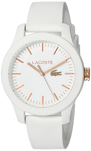 Lacoste Womens Analog Quartz Watch with Silicone Strap 2000960