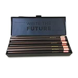 Linc Pentonic Black Pencil Box with 10 Pcs Dark Premium Pencil
