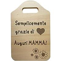 Tagliere decorativo personalizzato Idea regalo festa della mamma compleanno