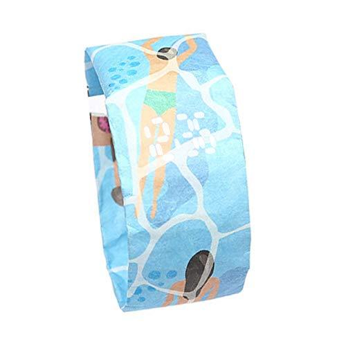 Lispeed MagicWatch Papieruhr die Besondere Uhr aus Tyvek - Armbanduhr Frauen - Armbanduhr Herren Sportuhr Wasserdicht Uhr Papier Armbänder