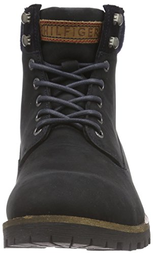 Tommy Hilfiger HOUSTON 2N Herren Combat Boots Blau (MIDNIGHT 403)