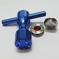 mamimamih 2x 15g Golf Gewichte und Blau Schlüssel für Titleist Scotty Putter