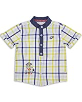 The Essential One - Baby Kids Boys - Grandad Shirt - 5-6 Years - Yellow - EOT236