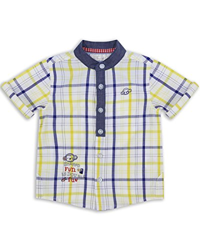 The Essential One - Baby Kinder Jungen - Kurzarm-Hemd - 18-24 M - Gelb - EOT236