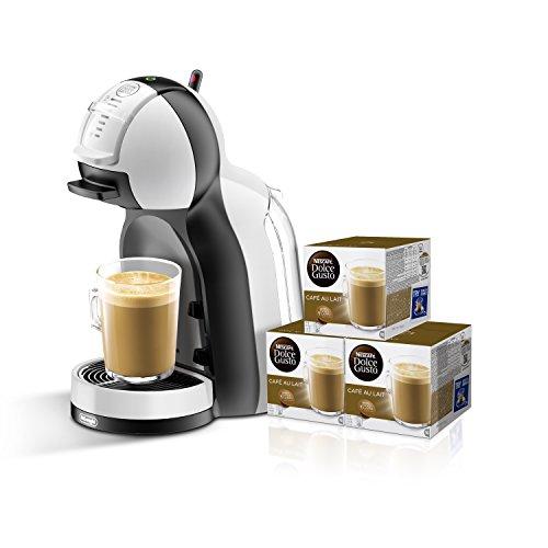 De`Longhi Nescafè Dolce Gusto Mini Me – Sistema automático de cápsulas + 3 packs de café Dolce Gusto