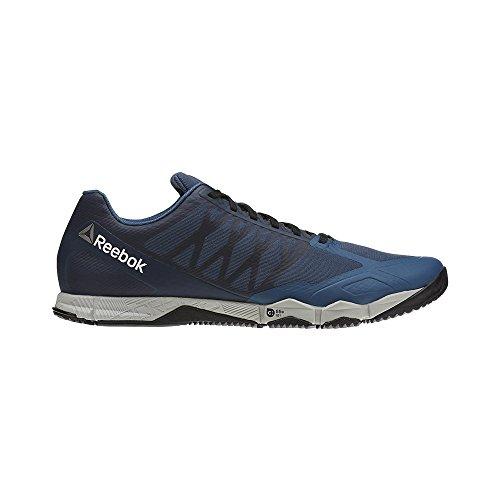 Reebok Crossfit Speed TR, Sneaker a Collo Basso Uomo, Blu (Brave Blue/Skull Grey/Black/White/Pewter), 41 EU
