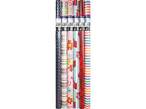 Geschenkpapier Kangaro everyday sortiert 200 x 70 cm